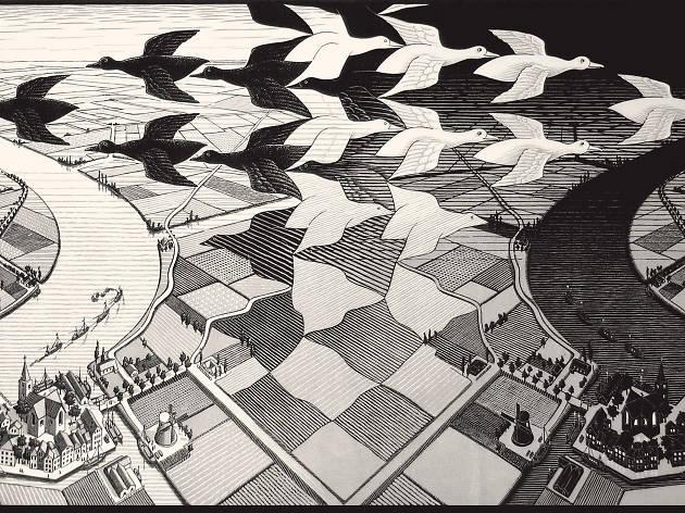 """Esta quarta-feira visitar a exposição """"Escher"""" fica a menos de metade do preço"""
