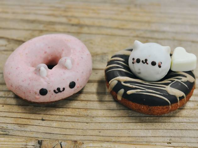 Floresta animal doughnuts