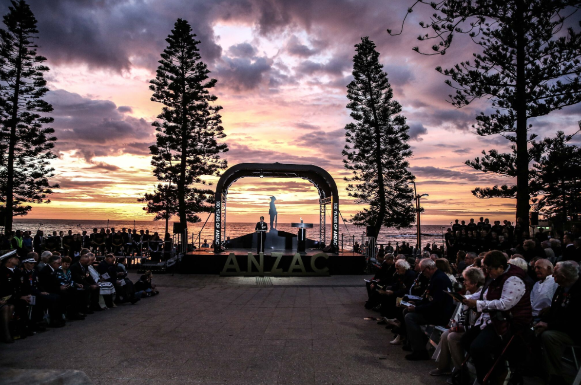 ANZAC Day Dawn Service at Dee Why