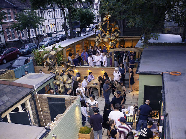 best beer gardens in london, leyton star