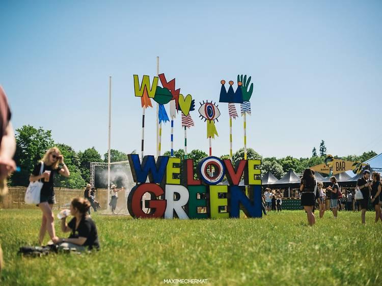 Ecouter les meilleurs groupes du moment au festival We Love Green