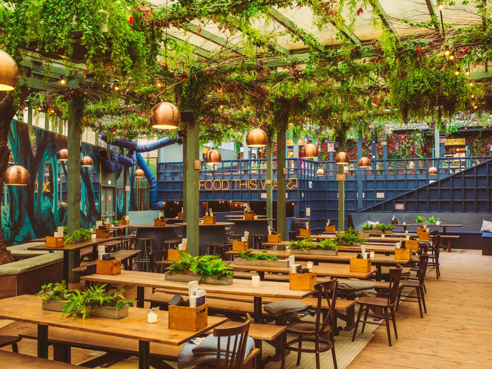 best beer gardens in london, the prince