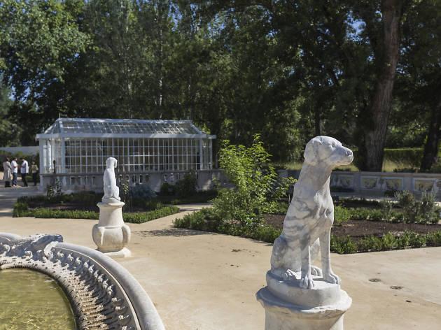 Jardim Botânico no Palácio Nacional de Queluz