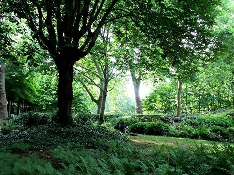 Méditation au Parc de Bercy