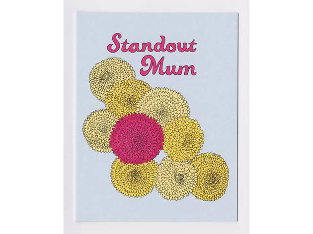 Standout Mum Mother's Day card