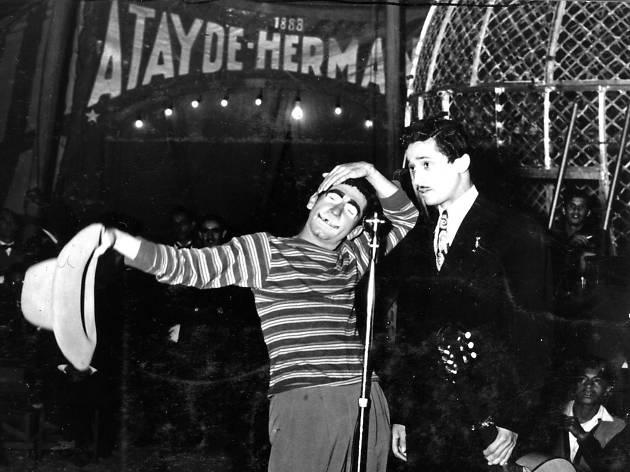 Palillo en la carpa del Circo Atayde Hermanos