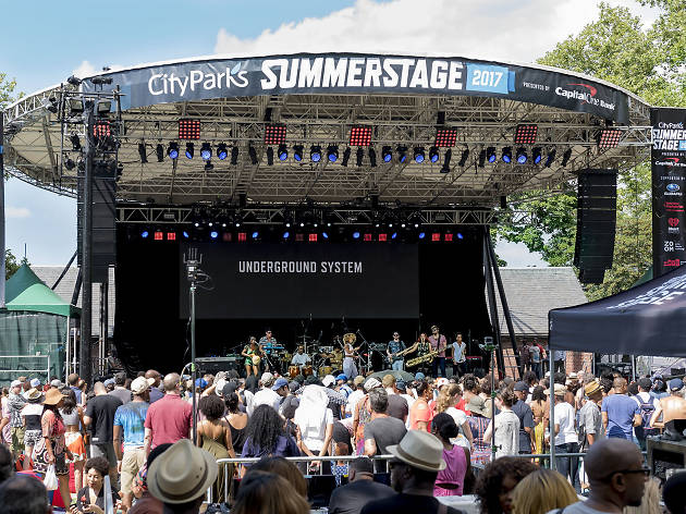 The SummerStage 2018 lineup is here