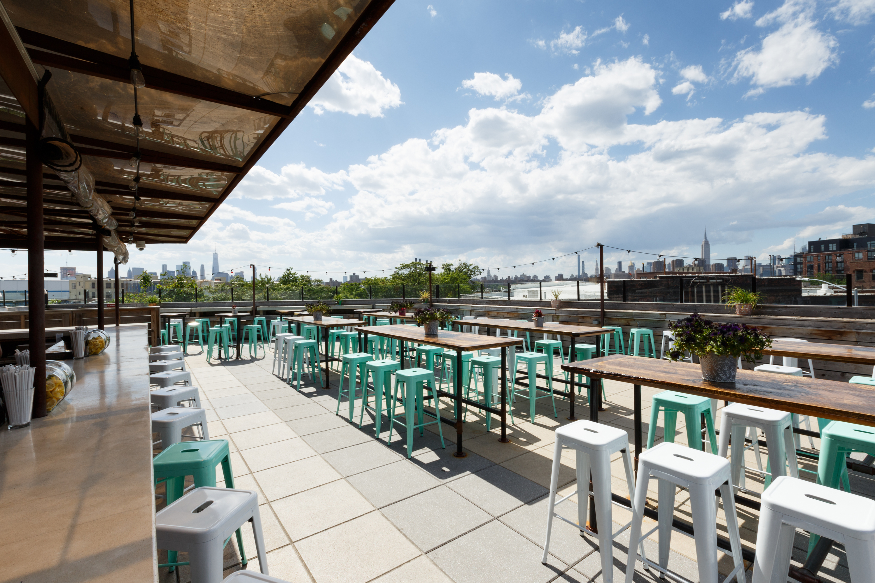 Dine on a rooftop