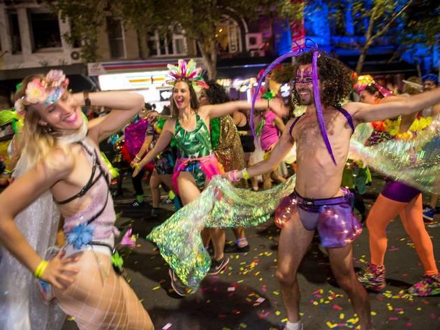 Oxford street Mardi Gras 2018