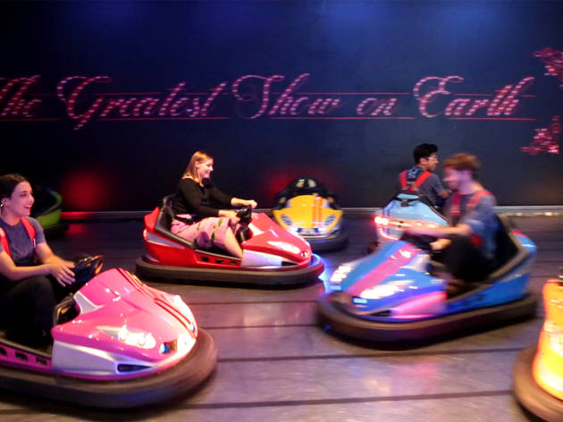 Dodgem Cars at Archie Bros Flying Circus