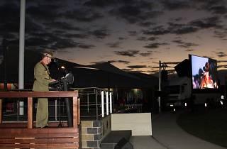 ANZAC Day Dawn Service at Castle Hill