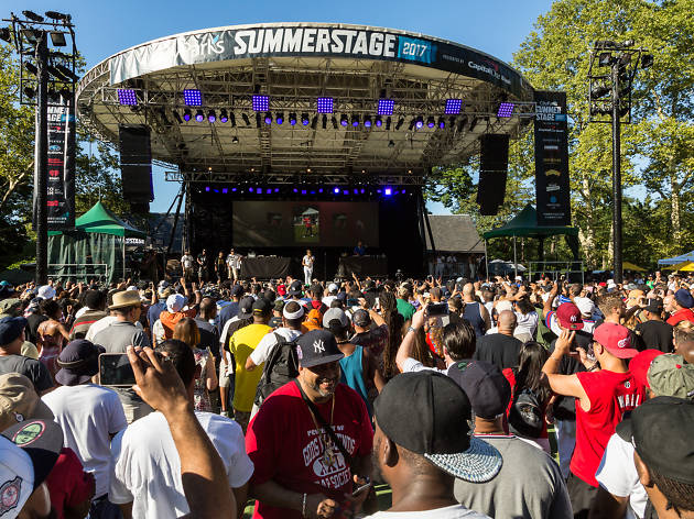 Your guide to SummerStage 2018
