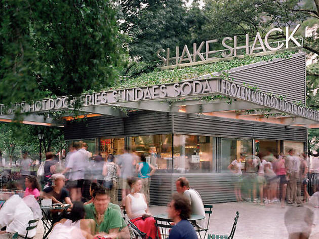 Outdoor restaurants for NYC families