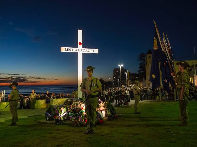 ANZAC Day Dawn Service at Cronulla