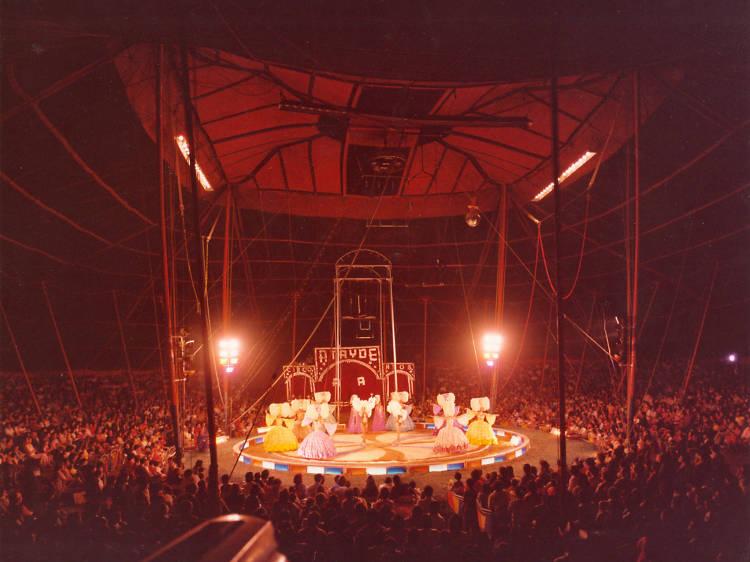 Inicios del circo moderno