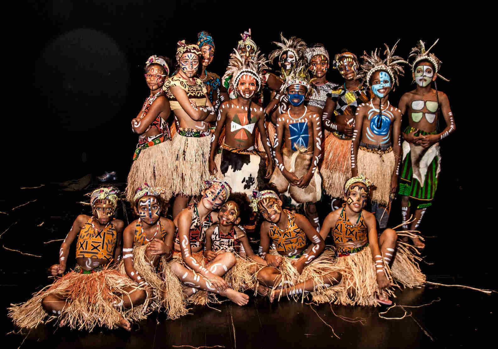 Danças brasileiras e africanas