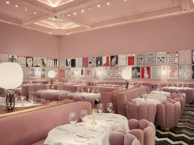 Sketch Gallery Restaurants In Mayfair London