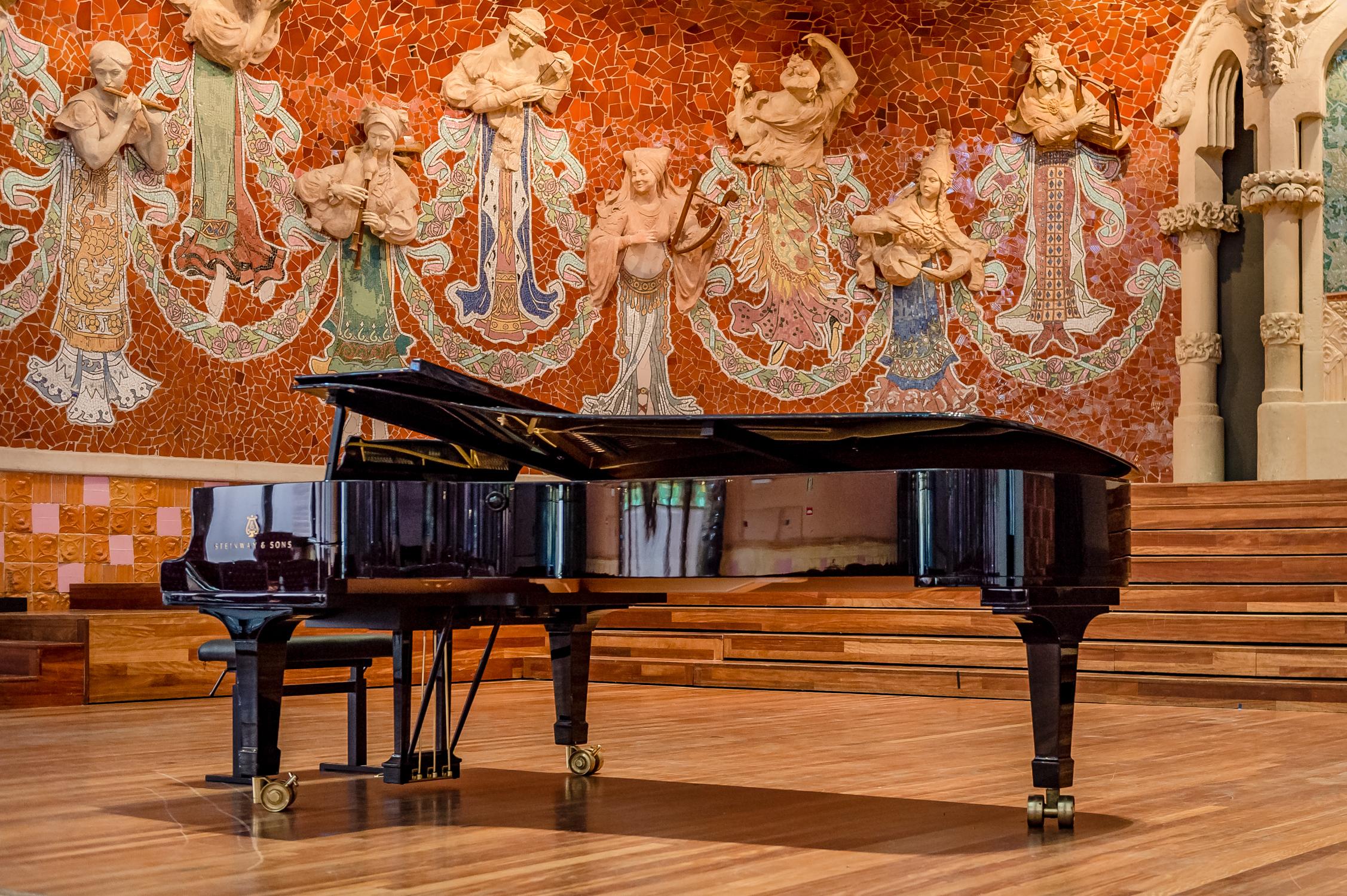Nits apassionants de piano al Palau de la Música