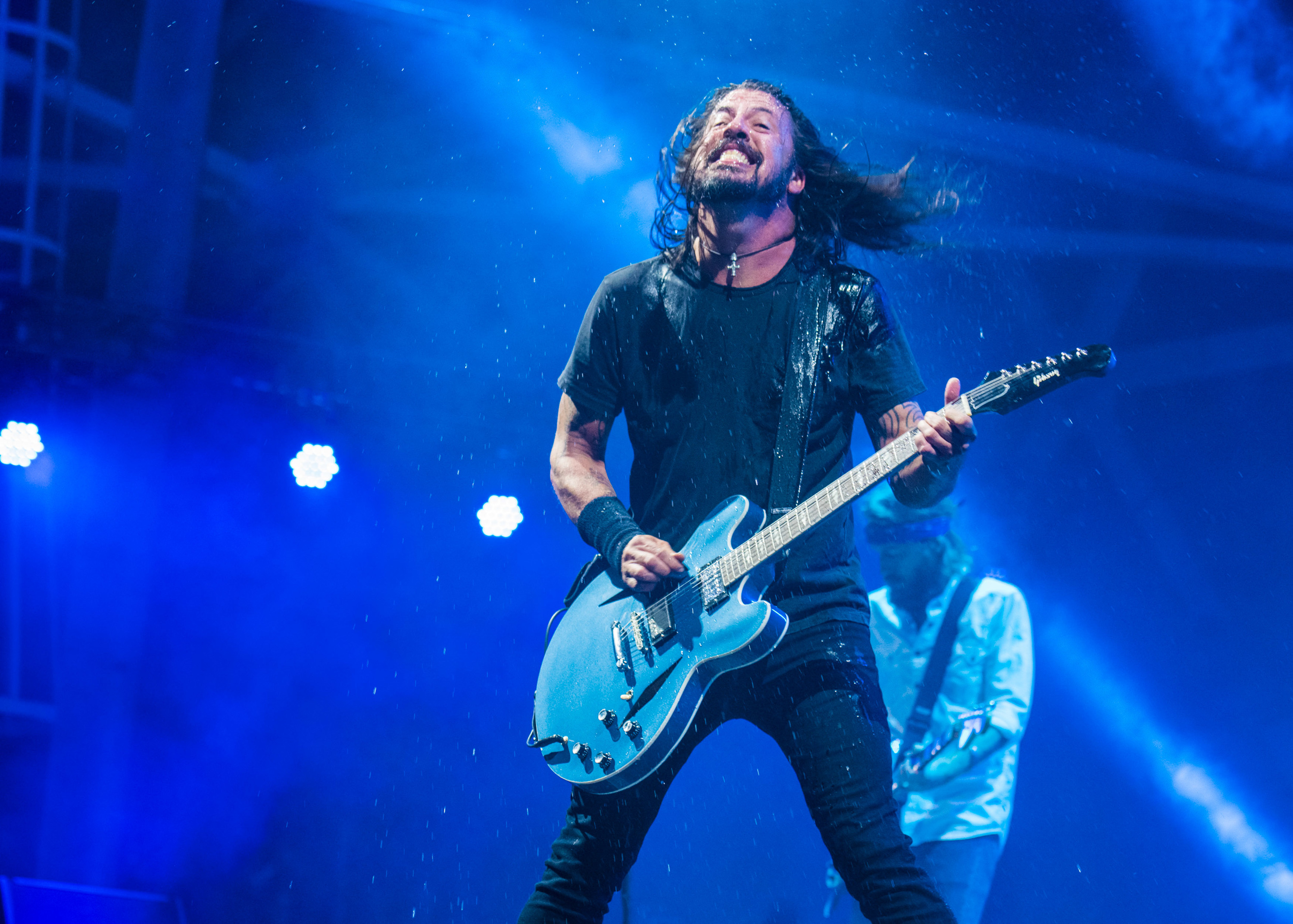 A talented fan stole the show at the Foo Fighters concert