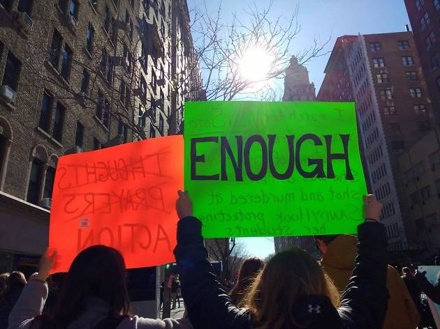Are there consequences for students participating in tomorrow's walkout?