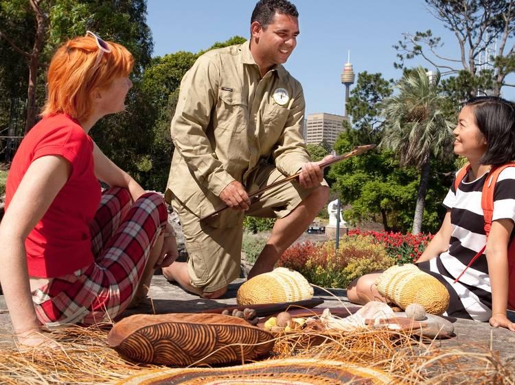 Go on a bush foods tour of the Royal Botanic Gardens