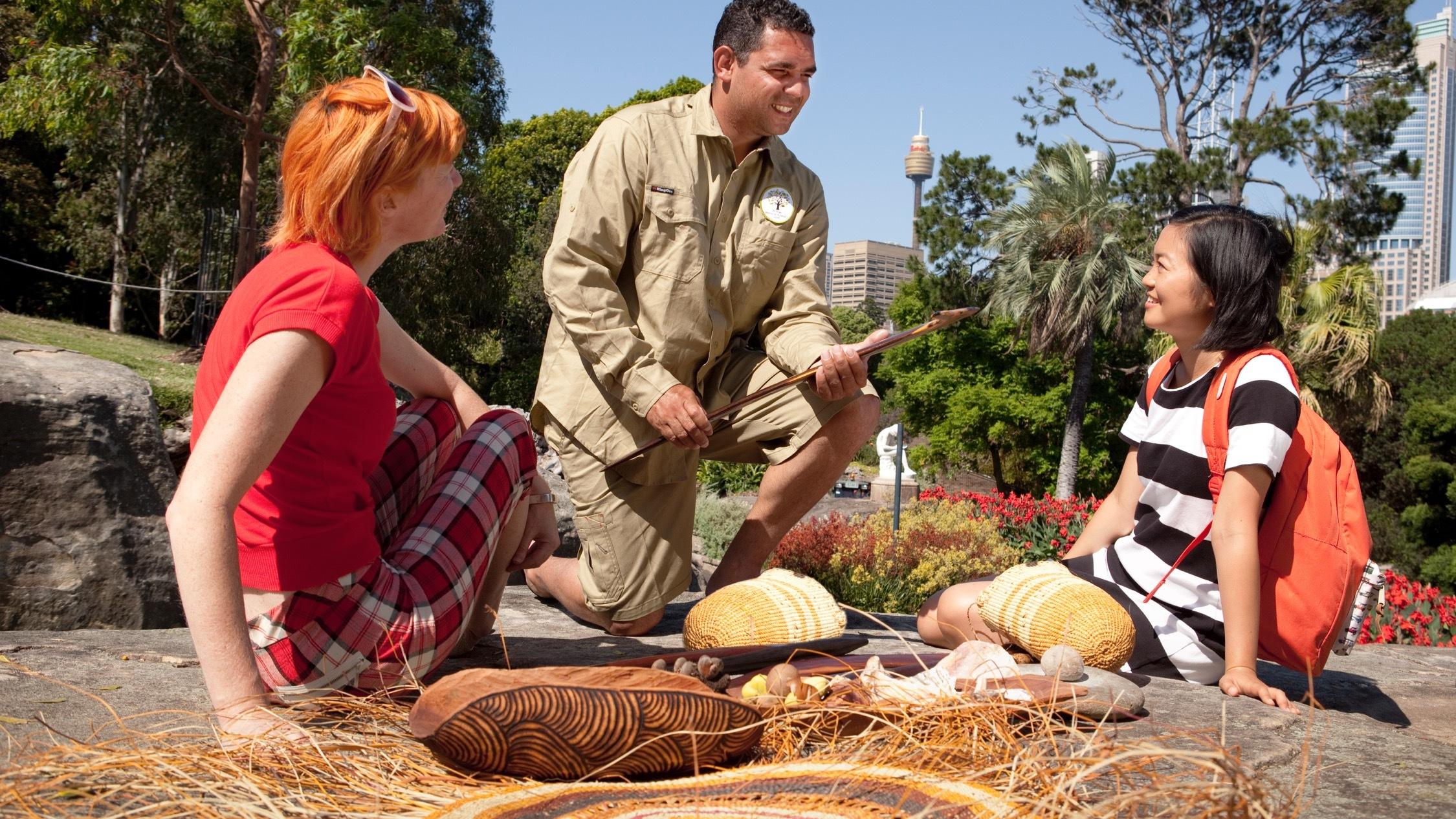 Aboriginal Heritage Tour Botanic Gardens Sydney