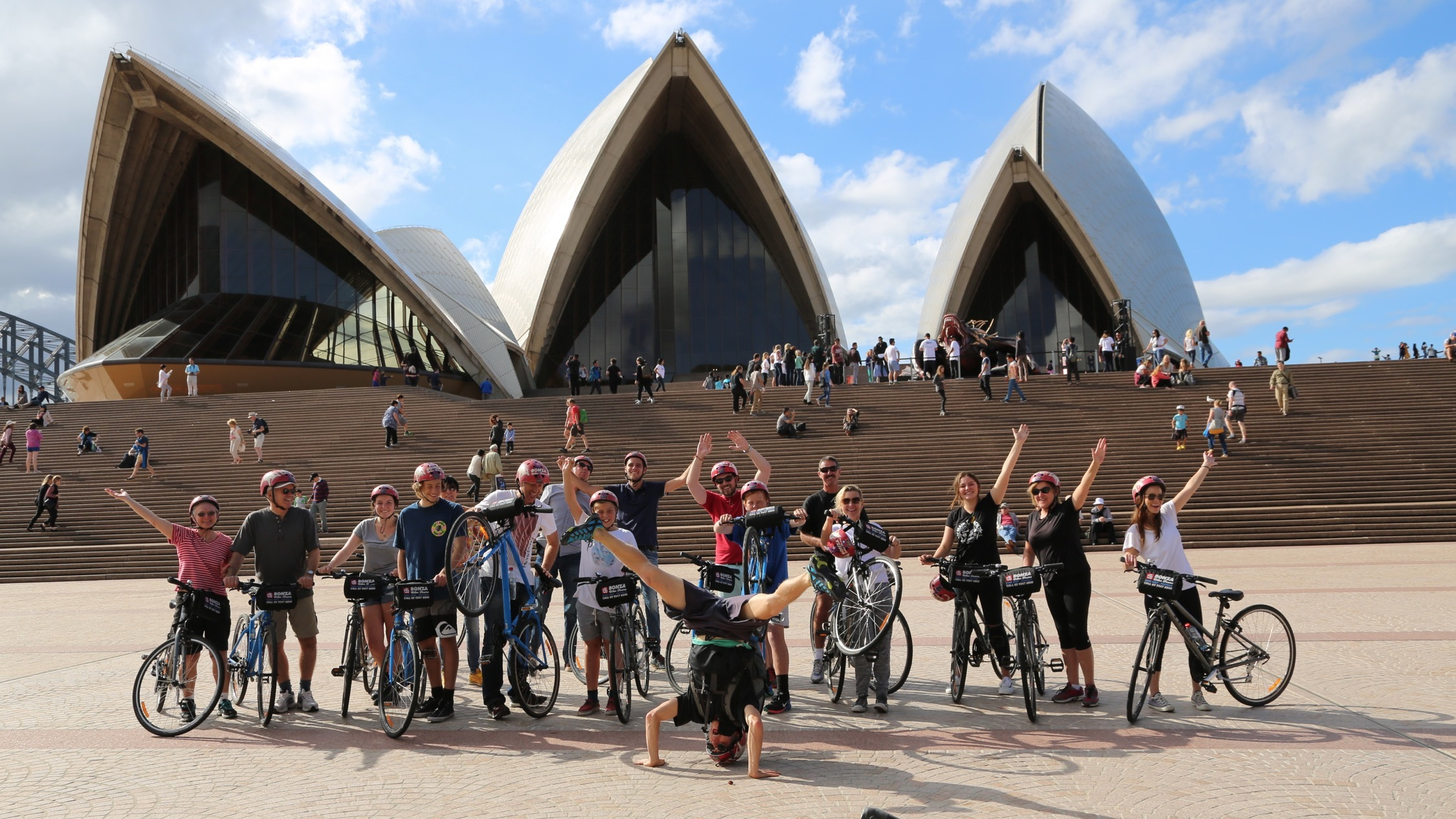 Bonza Bike Tour Sydney