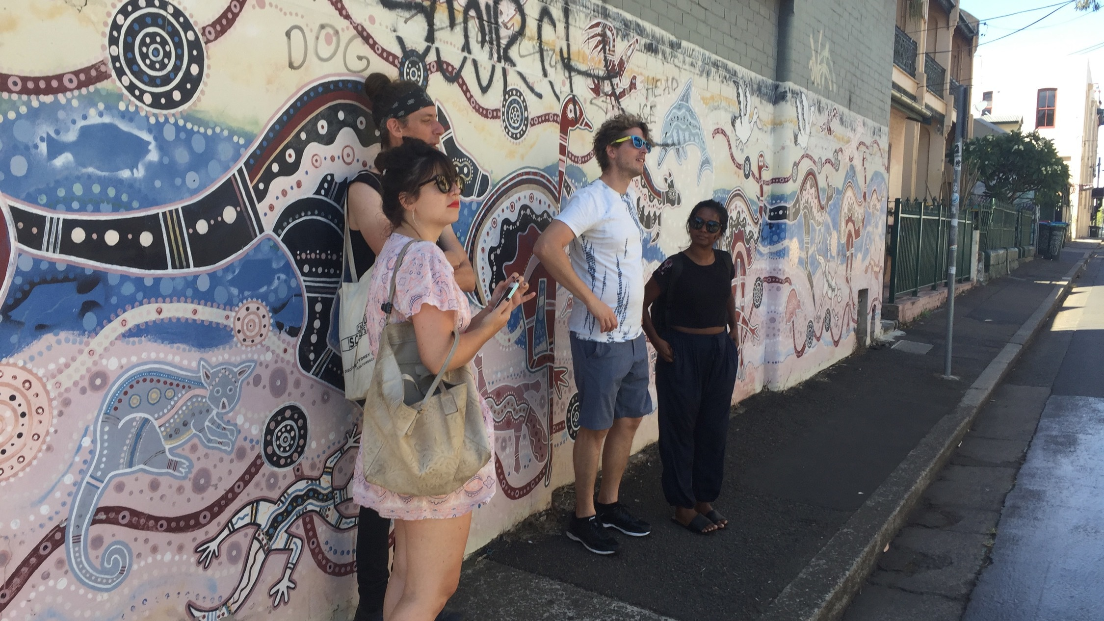 Culture Scouts tour Sydney