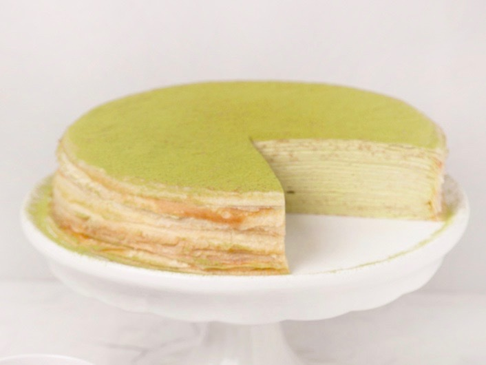 Lady M Green Tea crepe cake