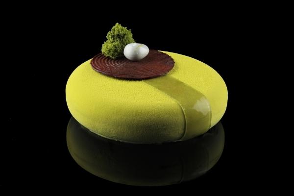 Coco zen garden cake