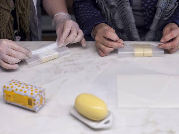 Mini fábrica de sabonete