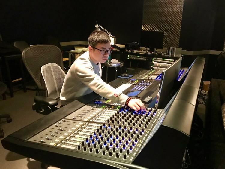 葉兆基,音響效果師