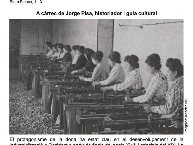 Itinerari 'Industrialització, una història de dones'