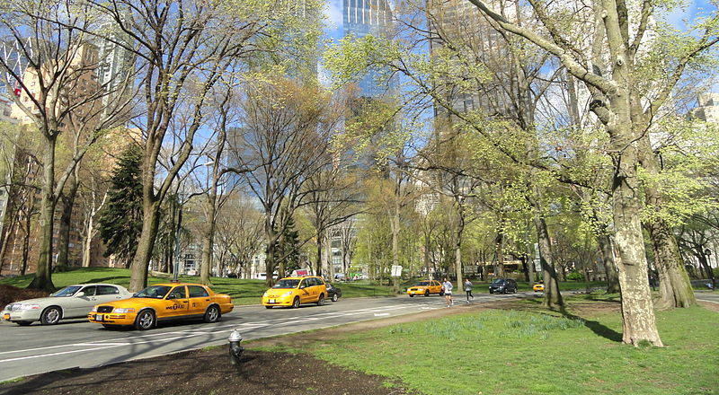 Cars are being banned from Central Park