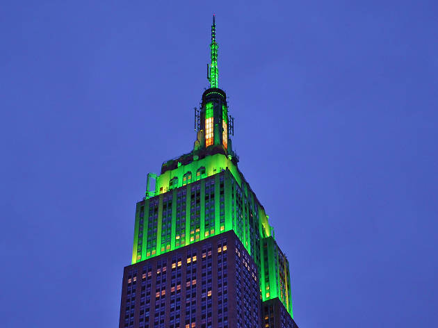 The Empire State Building is going green for Earth Day