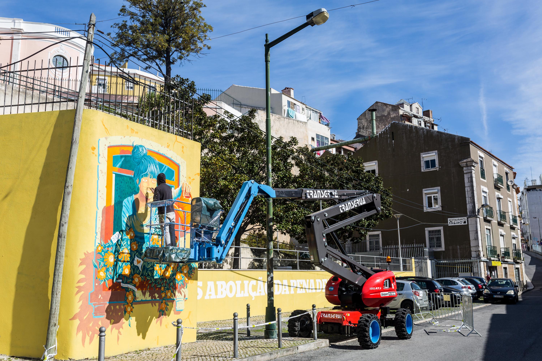 mário belém, mural, arte urbana