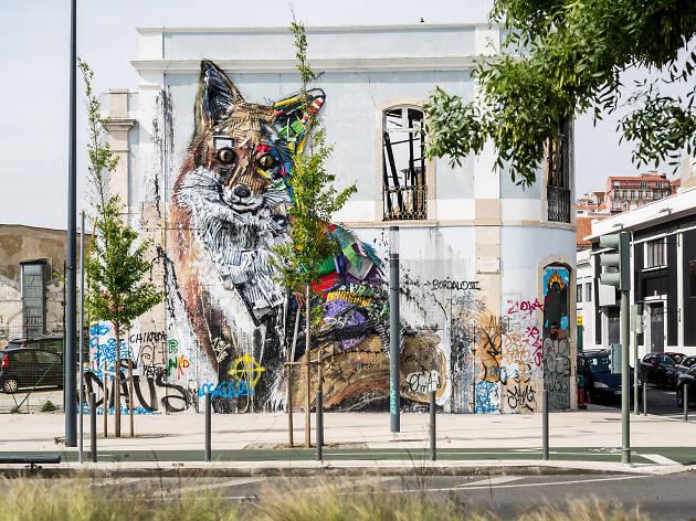 bordalo II, arte urbana