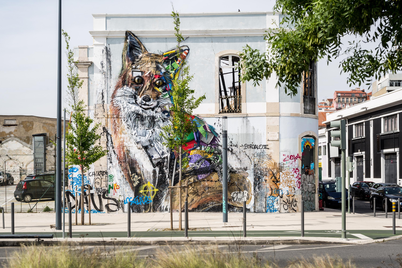 Três intervenções de arte urbana que não pode perder