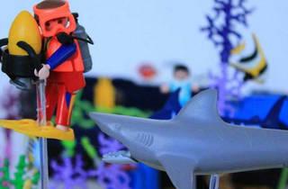 Exposición Playmoculturas (Foto: Cortesía Playmobil)