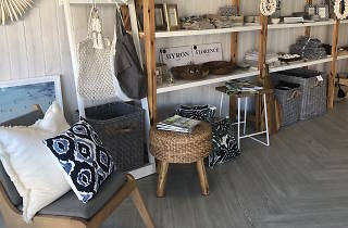Interior of Driftwood Living store
