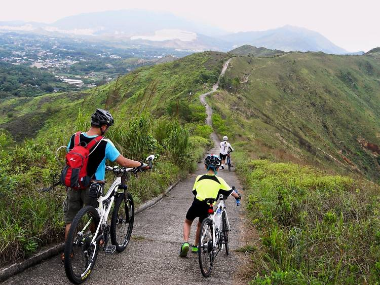 The best cycling routes in Hong Kong