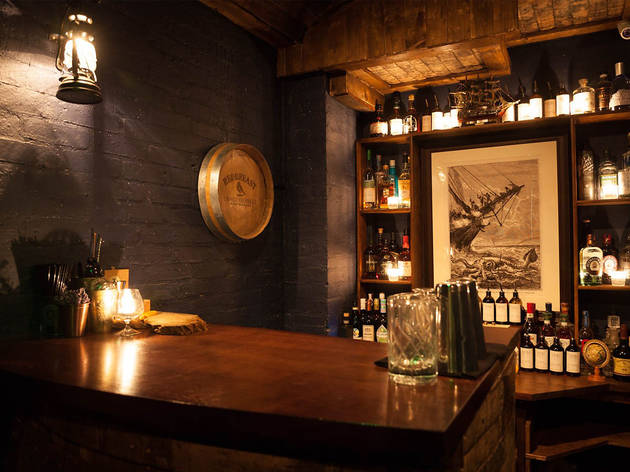 Cocktail experience at London's smallest speakeasy