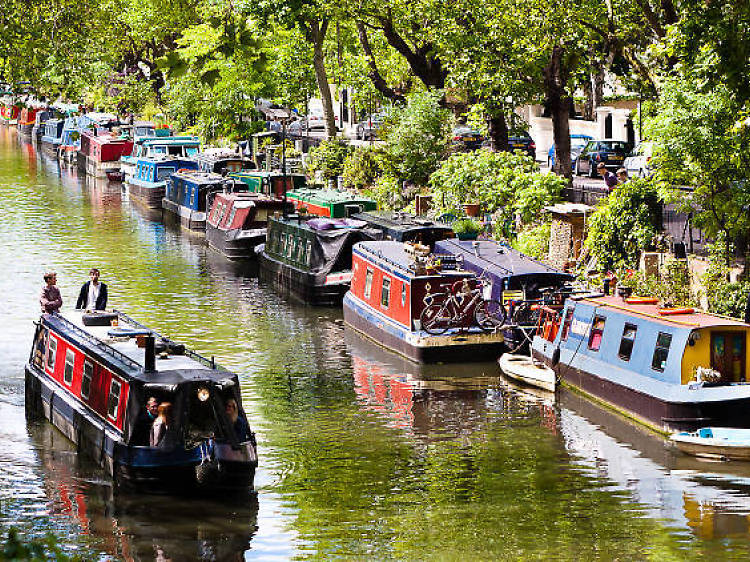 Walk the canals of Little Venice