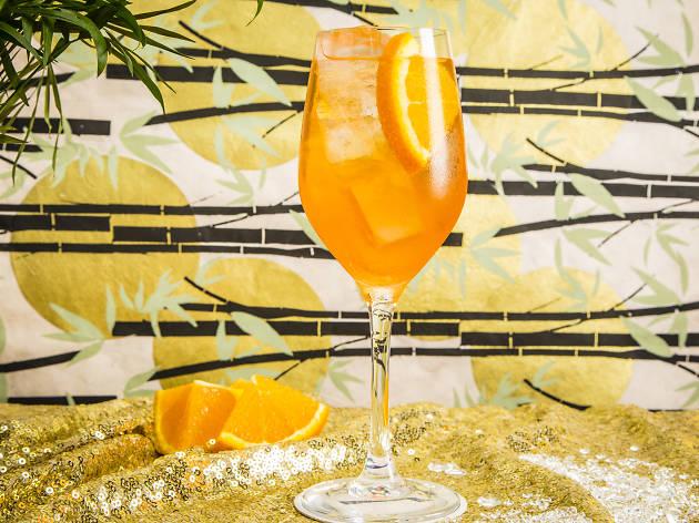 bar termini centrale, spritz termini, prosecco cocktails