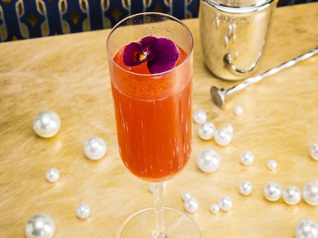 nine lives, alright blossom, prosecco cocktails