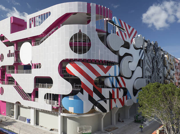 The Design District debuts its insane new parking garage