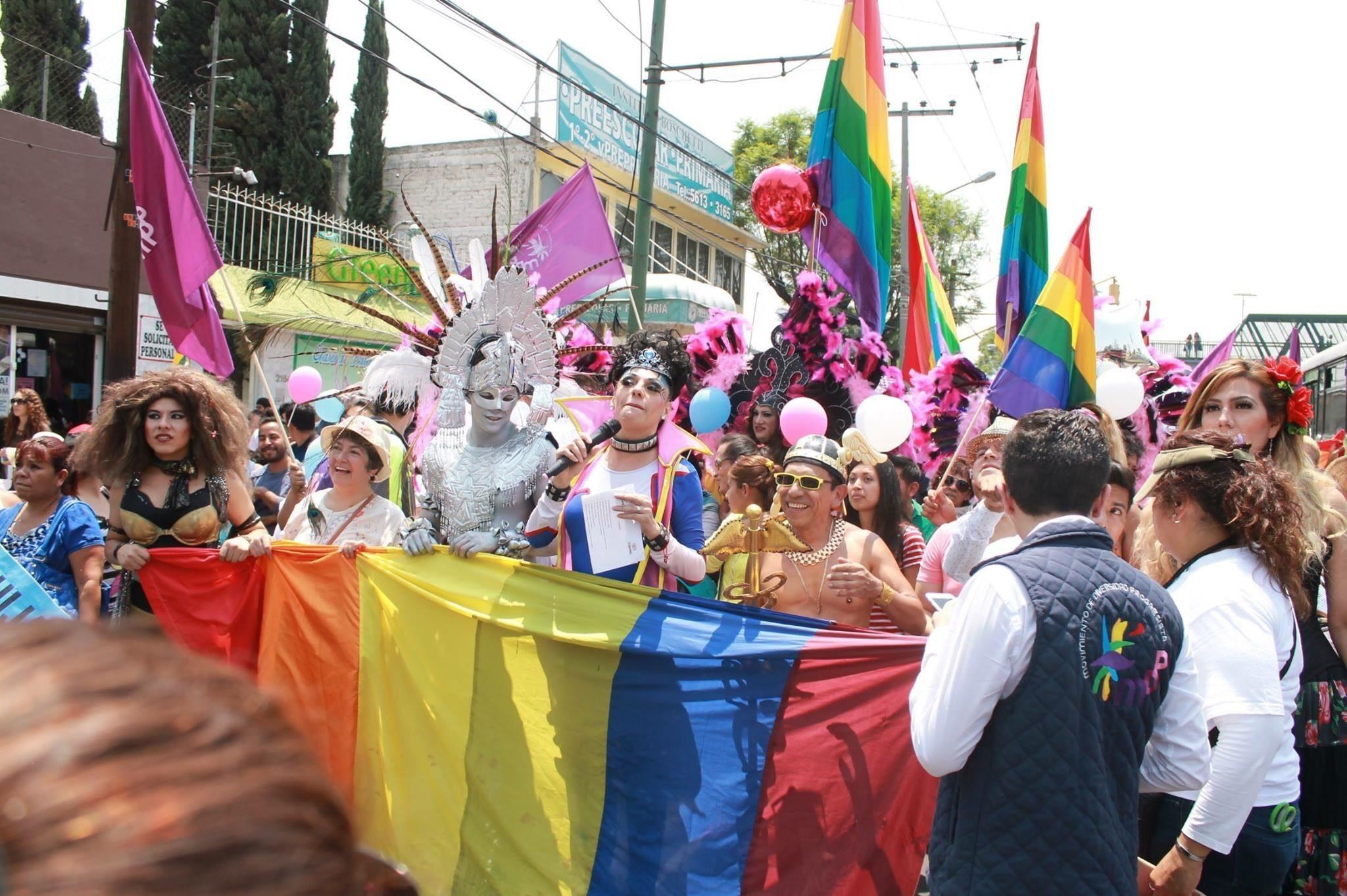 Marcha LGBTTTI por Iztapalapa: Yo también cuento