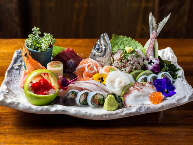 Os pratos de sashimi de Luís Cardoso são montados em 3D