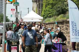 Fairmount Avenue Arts Crawl turns Fairmount Avenue into a giant open-air art gallery.
