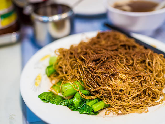 Bamboo noodles